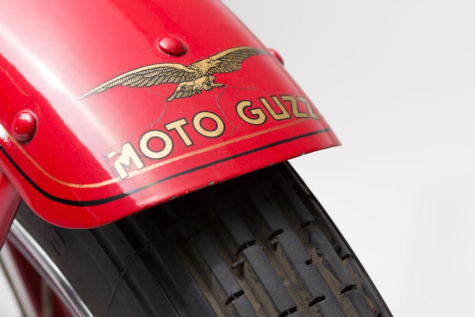 Moto Guzzi V 1934 front fender