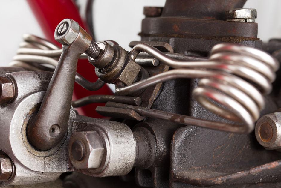 Moto Guzzi V 1934 valves