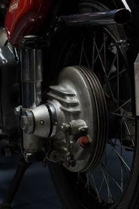 Condor A580 rear brake drum