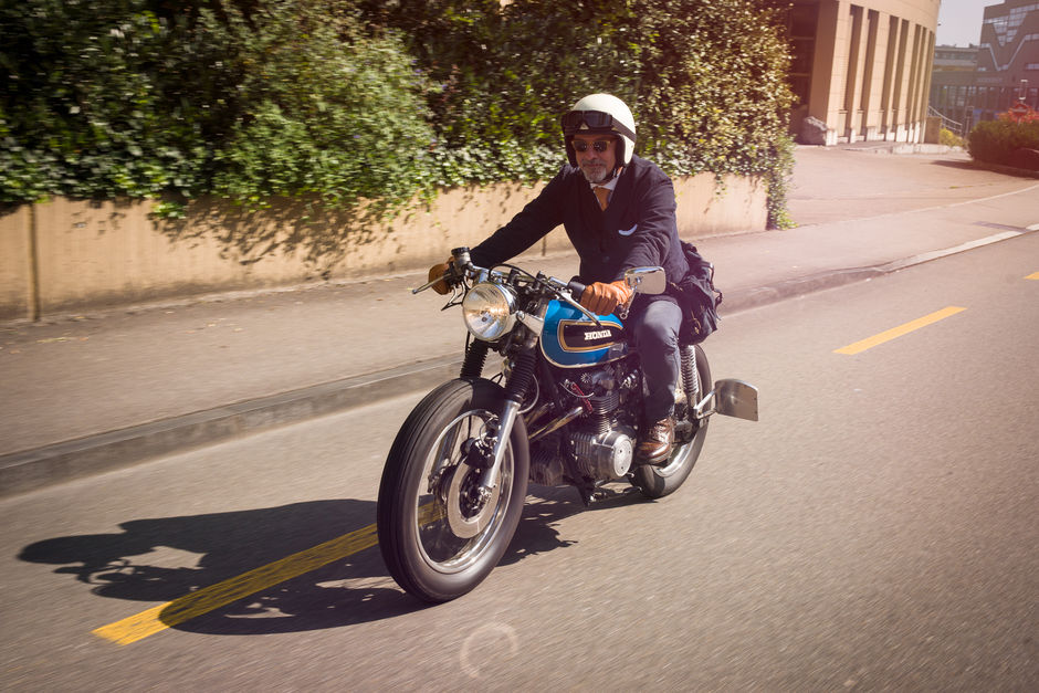 The Distinguished Gentlemans Ride 2014 Zurich Honda CB750 Four
