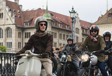 The 2015 Distinguished Gentlemans Ride in Zurich