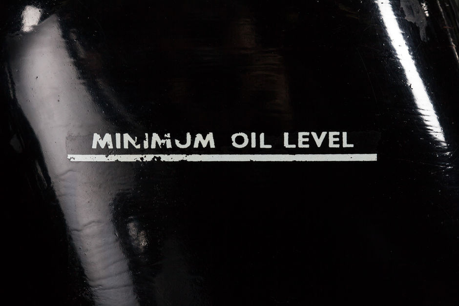 minimum oil level